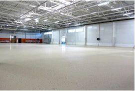 Где используются бетонные и полимерные полы?