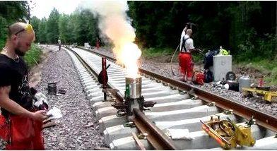 Сварка в железнодорожном транспорте