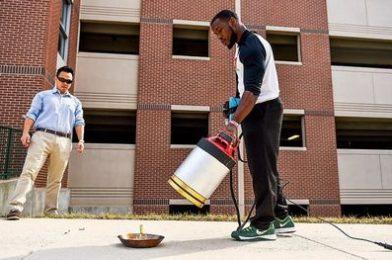 Звуковой огнетушитель от американских студентов