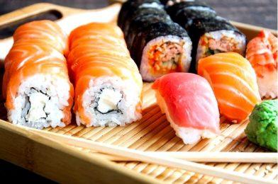 Основные начинки для роллов и суши