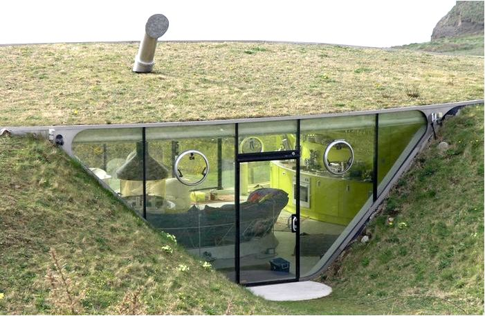 Правила строительства подземных домов