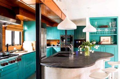 Солидные и красивые кухонные столешницы — обзор предложений производителей — кухонная мебель