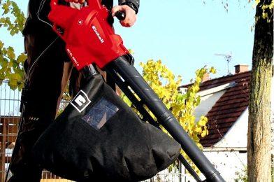 Как выбрать садовую воздуходувку