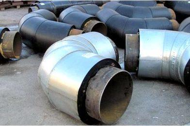 Типы стальных отводов и их применение.