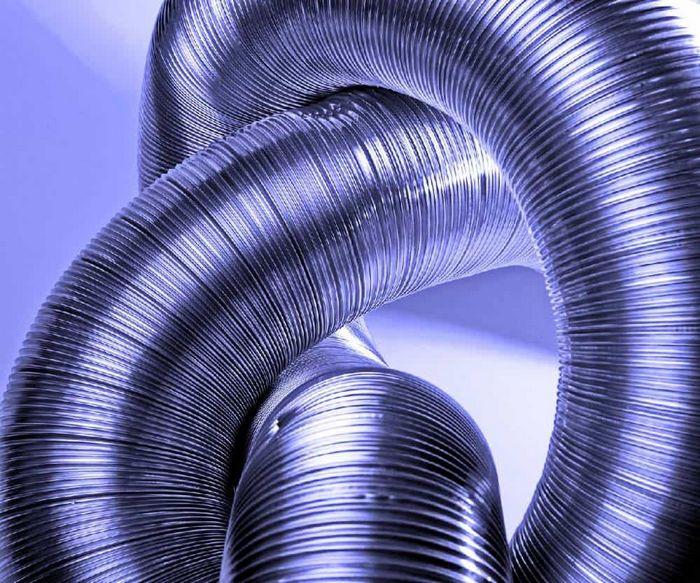 Воздуховодные каналы и металлические трубы