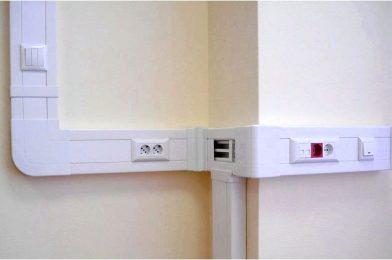 Эстетичные и практичные кабельные каналы