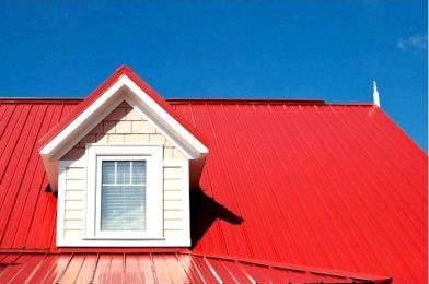 Как подобрать цвет забора к красной крыше дома? — Специализированные промышленные, антикоррозионные, декоративные краски